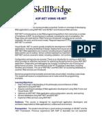 ASP.net Using Vb.net
