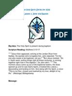 The Holy Spirit Series for Kids - John the Baptist