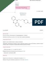 Perfenazina - Real Farmacopea Española