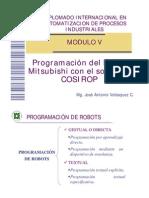 Programación del Robot Mitsubishi con el software COSIROP