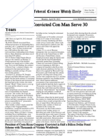 April 30, 2012 - The Federal Crimes Watch Daily