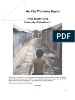 Right to the City Workshop Report