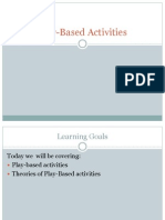 Play Based Activities