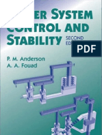 Power Systems Control and Stability 2nd Ed by P.M. Anderson & a.a. Fouad