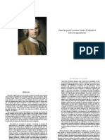 Carta sobre los espectáculos. J.J.R. a d` Alambert