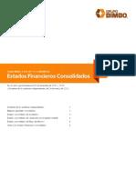 Grupo Bimbo Estados Financieros Con Soli Dados 2011