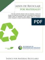Mercados de Reciclajes por Materiales