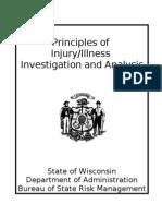 Principles of Injury Illness Investigation and Analysis