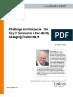 William Bridges Challenge and Response