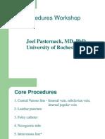 Procedures Workshop 2012