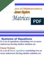 M15 L1 Matrices&Determinants