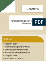 Ch 5 - Entity Relationship Diagrams