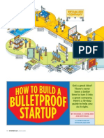 How to Build a Bulletproof Startup