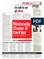 TheSun 2008-12-17 Page08 Building Industry Told to Cut Down on Foreign Labour