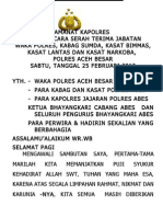 Amanat Sertijab Waka p0lres 25022012