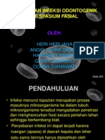 Perluasan Infeksi Odontogenik Ke Spasium Fasial