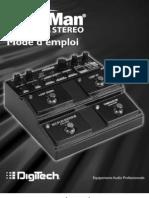 Digitech JamMan Stereo - Manuel_Fr