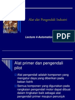 Alat Alat Pengendali Industri Lecture 4