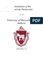 UDems Constitution