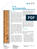 Trends in Transfer Pricing Audits