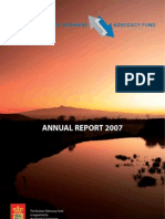 Business Advocacy Fund annual report 2007
