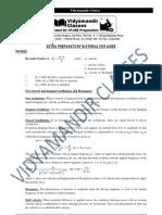 Aieee-2012 Study Material