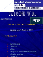 Osciloscopio Virtual