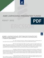 AMR Unpacking Parameter Fine Tunning Final Presentation