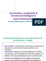 Presentation on Emotional Intelligence