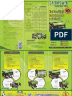 Green Power Brochures