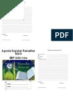 Buku Kegiatan Ramadhan Siswa