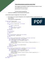Kriptografi Menggunakan Algoritma Ceaser Cipher