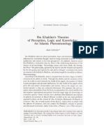 321_Ibn Khalduns Theories of Perception