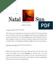 Real Sky Personal Natal Sun Sign