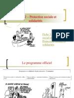 Thème 2 - protection sociale et solidarités