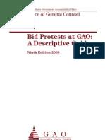 GAO Bid Protest Guide