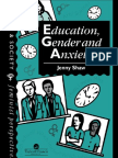 Education, Gender and Anxiety (2)