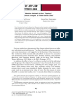 Does Weather Actually Affect Tipping? an Empirical Analysis of Time-Series Data