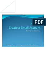 How to Create and Use Gmail Account