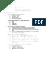 AP Economics Exam Chapters 1