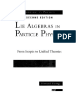 Lie Algebras in Particle Physics 2ª ed - From Isospin to Unified Theories (Georgi, 1999)