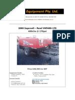 Ingersoll-Rand VHP400 a