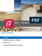 Water Consumption in India