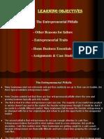 Entrepreneurial Traits & Pitfalls PPT
