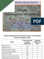 CME Anaemia