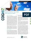 Cloud Brokers Can Help ISVs Move to SaaS