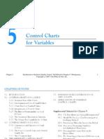 Chap05 Variable Control Charts