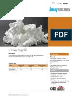 Datasheet - Crown Supafil & Green 37 Feb 08 CD39608