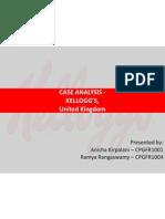 Anisha - Kelloggs UK Case Analysis