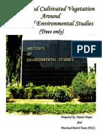 Directory of Trees around Dept of Environmental Studies, UoK